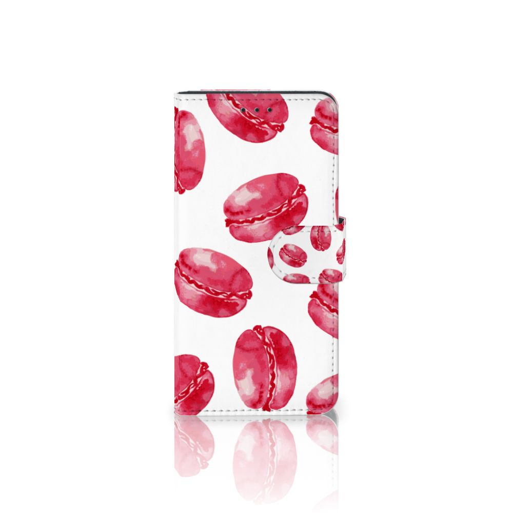 Samsung Galaxy J5 2017 Boekhoesje Design Pink Macarons