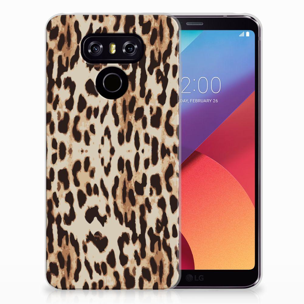 LG G6 TPU Hoesje Leopard