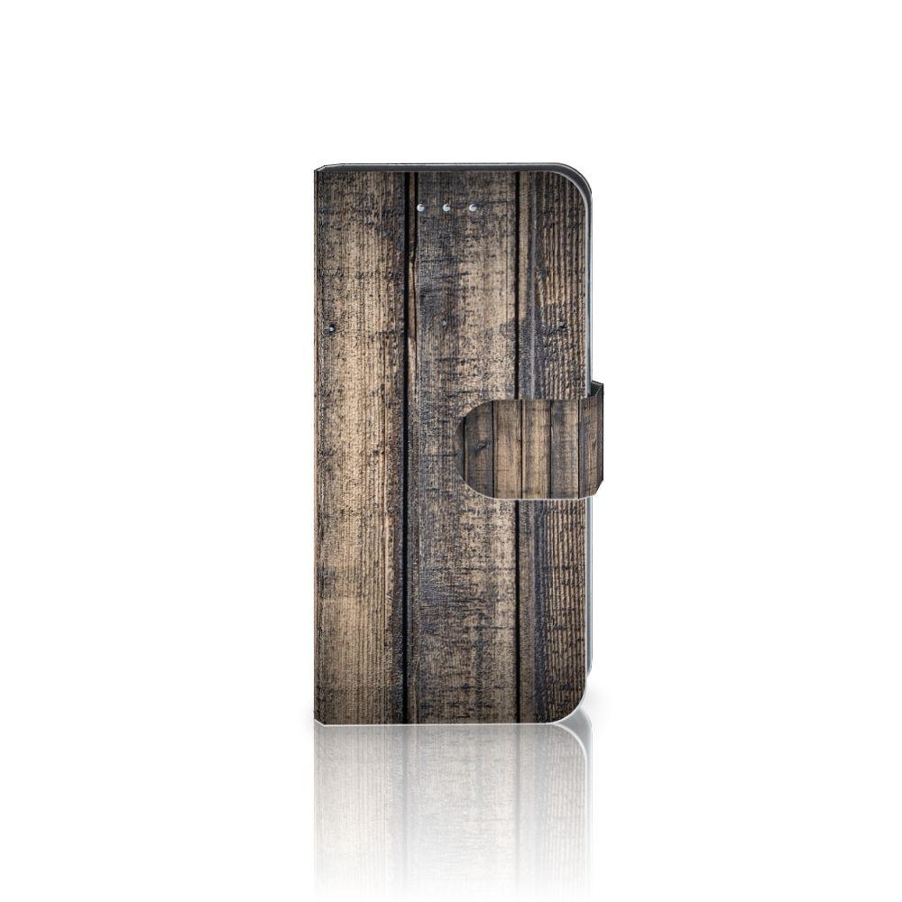 Samsung Galaxy S6 Edge Boekhoesje Design Steigerhout
