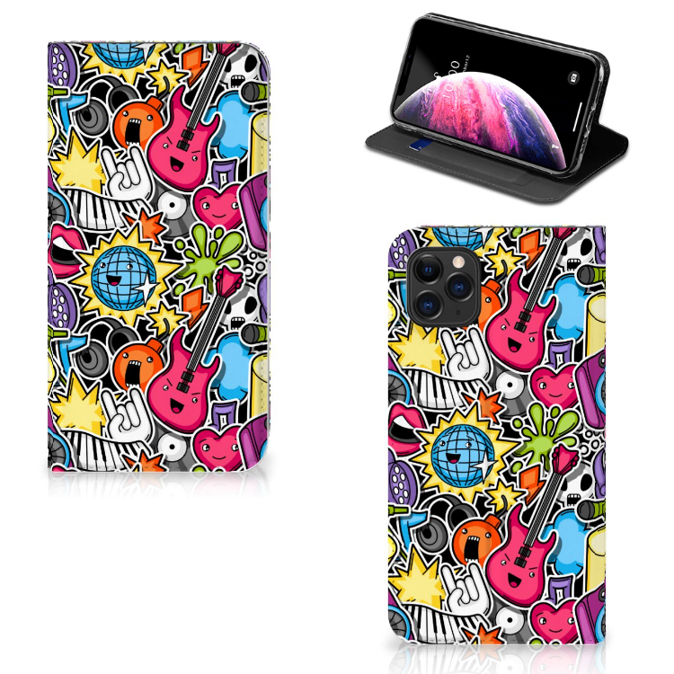Apple iPhone 11 Pro Max Hippe Standcase Punk Rock