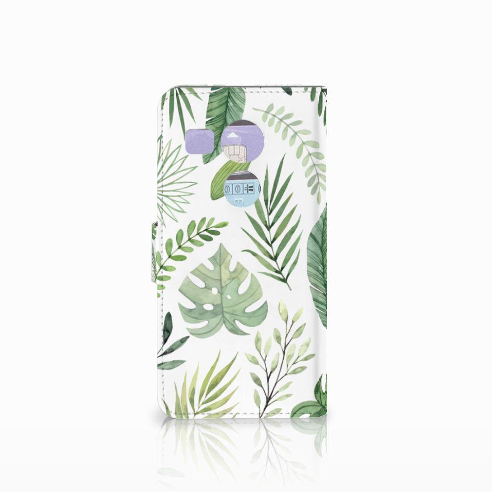 LG Nexus 5X Hoesje Leaves