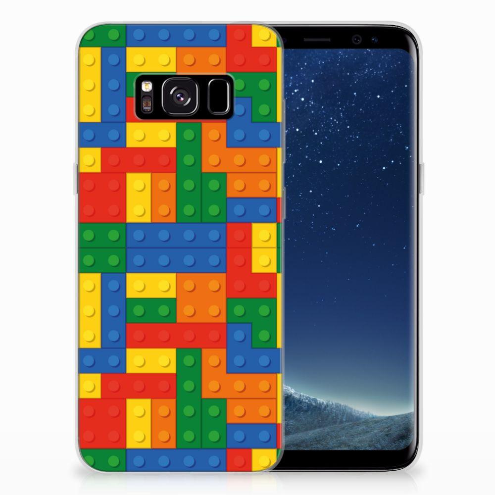 Samsung Galaxy S8 TPU Hoesje Design Blokken