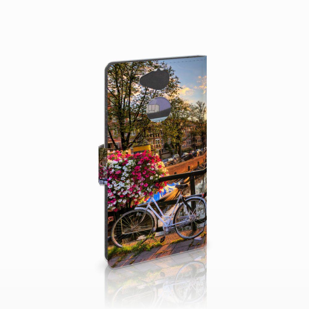 Sony Xperia XA2 Uniek Boekhoesje Amsterdamse Grachten