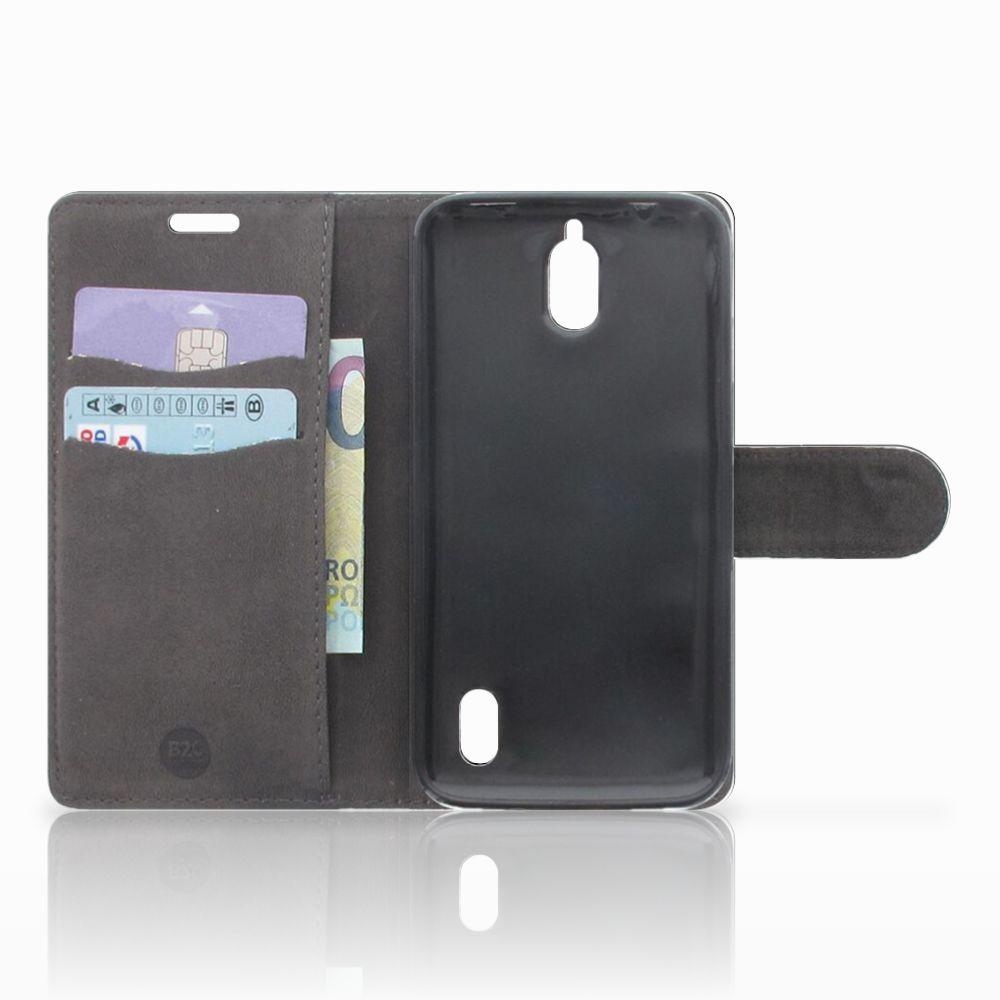 Huawei Y625 Telefoonhoesje met Pasjes Tijger