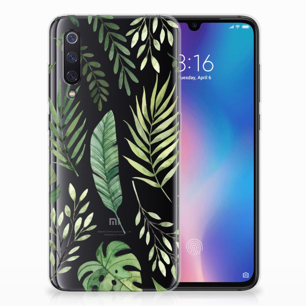 Xiaomi Mi 9 TPU Case Leaves