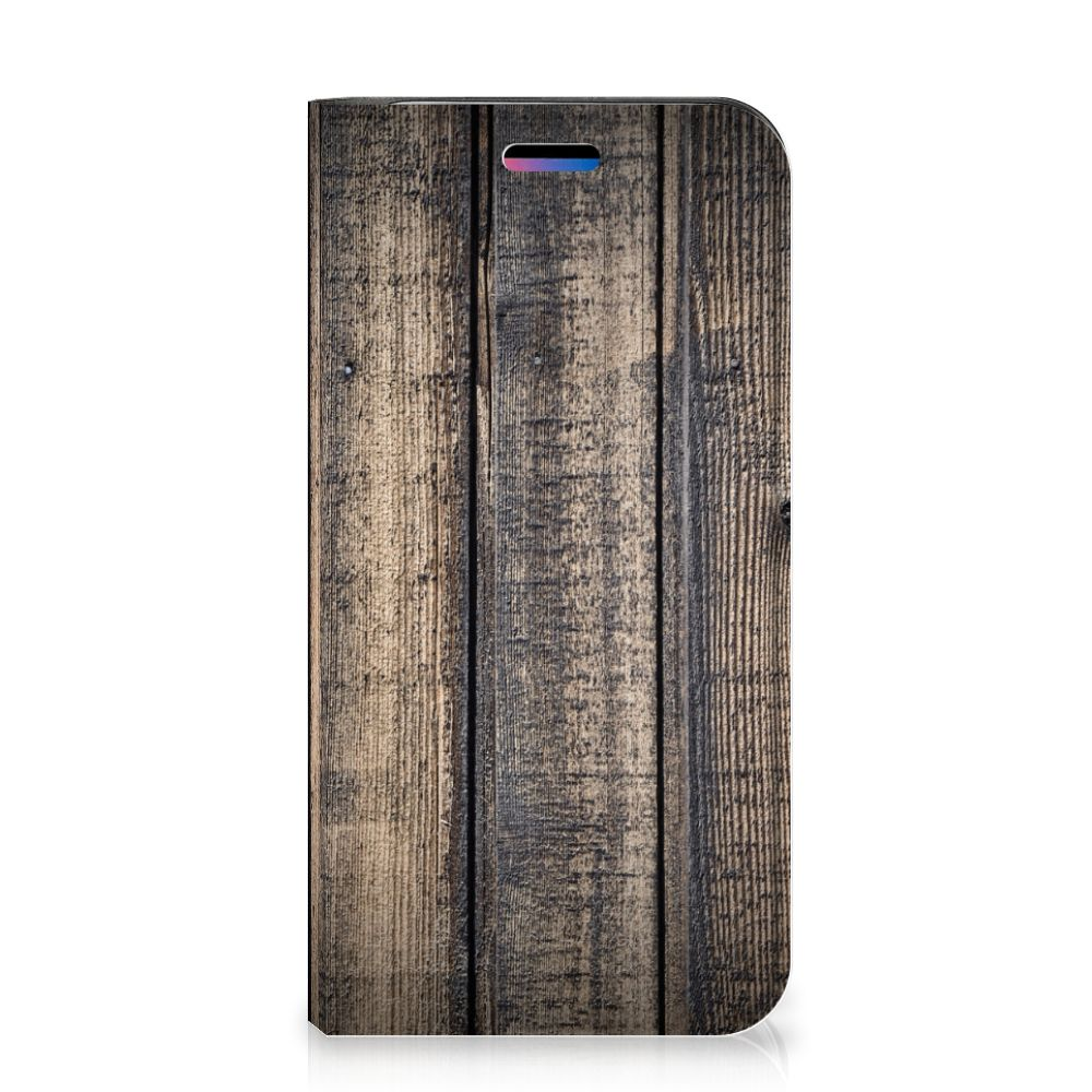 Apple iPhone X | Xs Book Wallet Case Steigerhout
