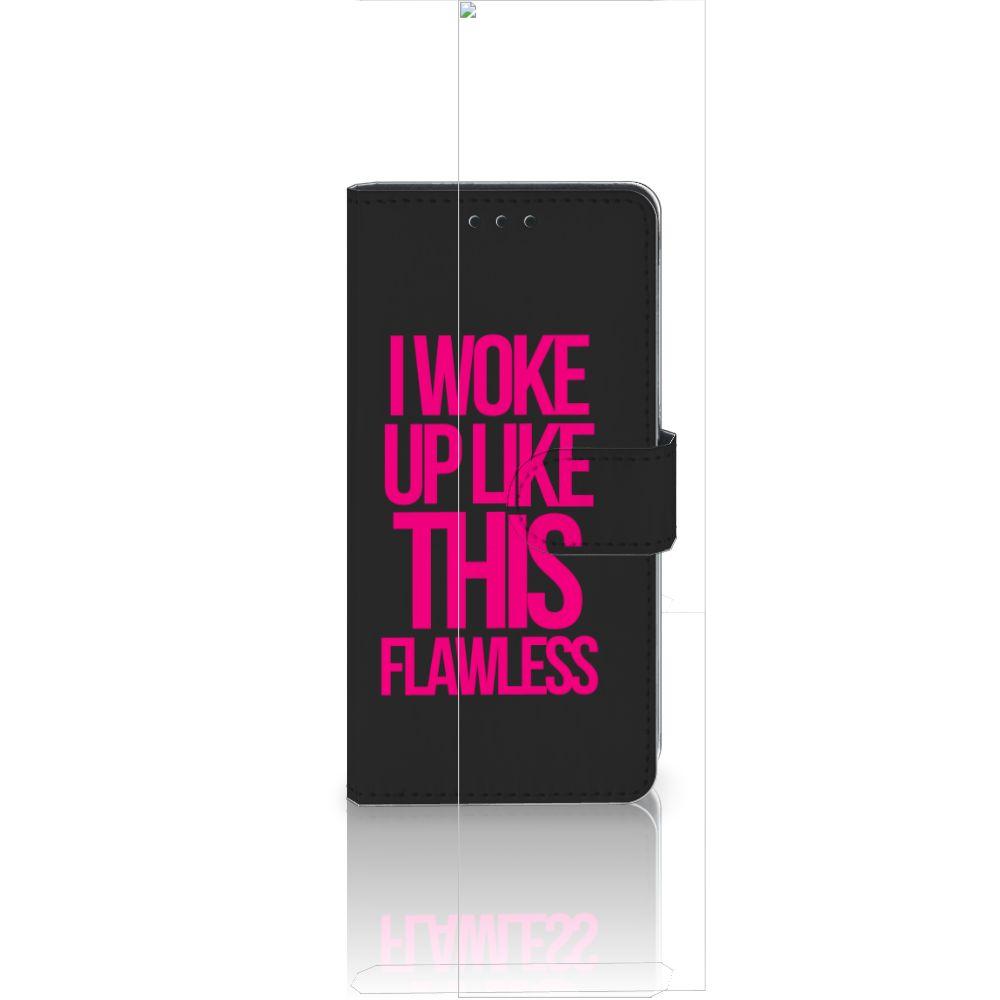 Huawei Ascend P8 Lite Hoesje met naam Woke Up