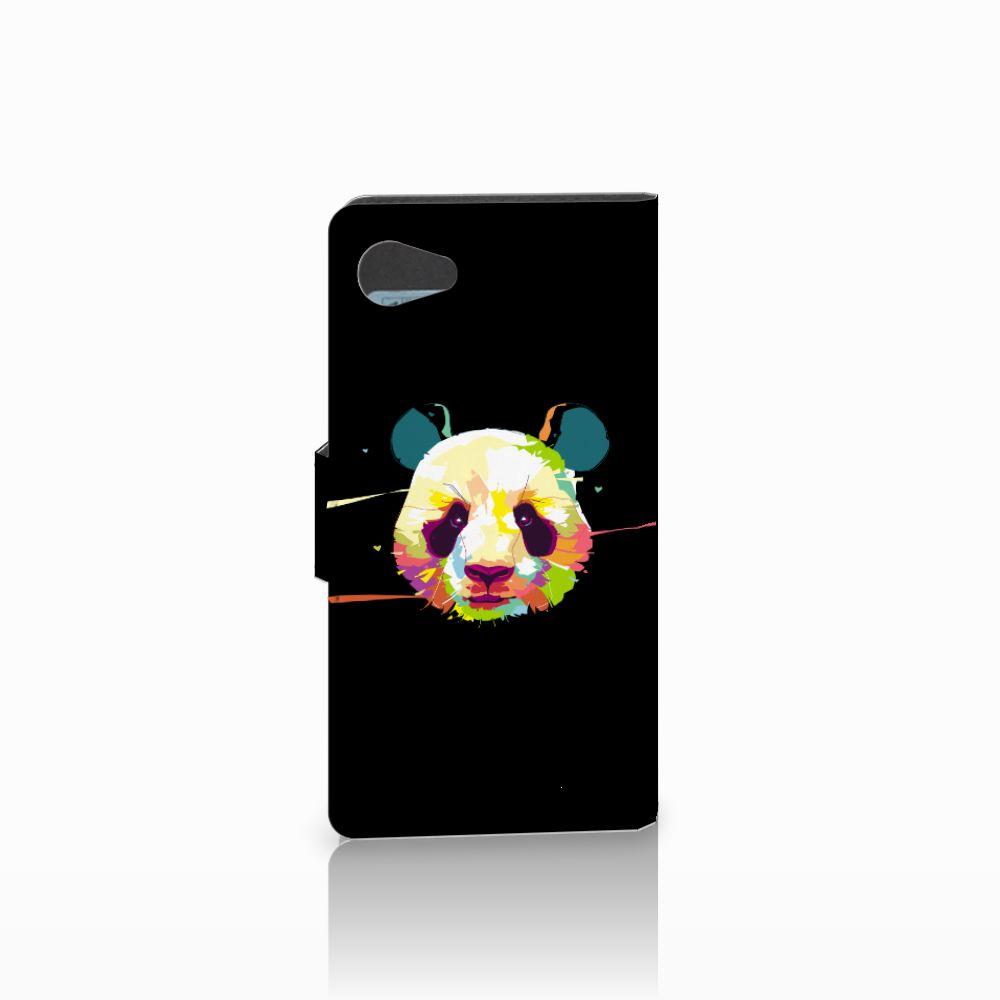Sony Xperia Z5 Compact Leuke Hoesje Panda Color