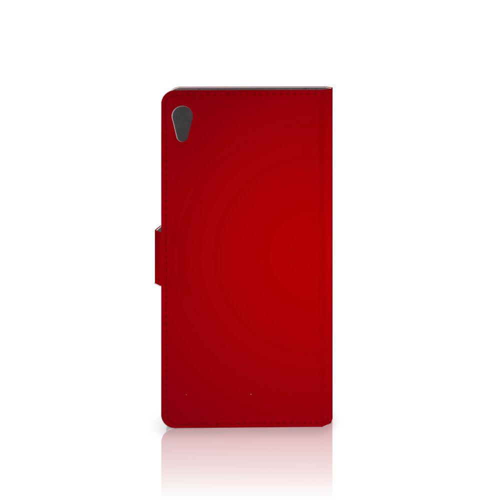 Sony Xperia XA Ultra Wallet Case met Pasjes Liefde