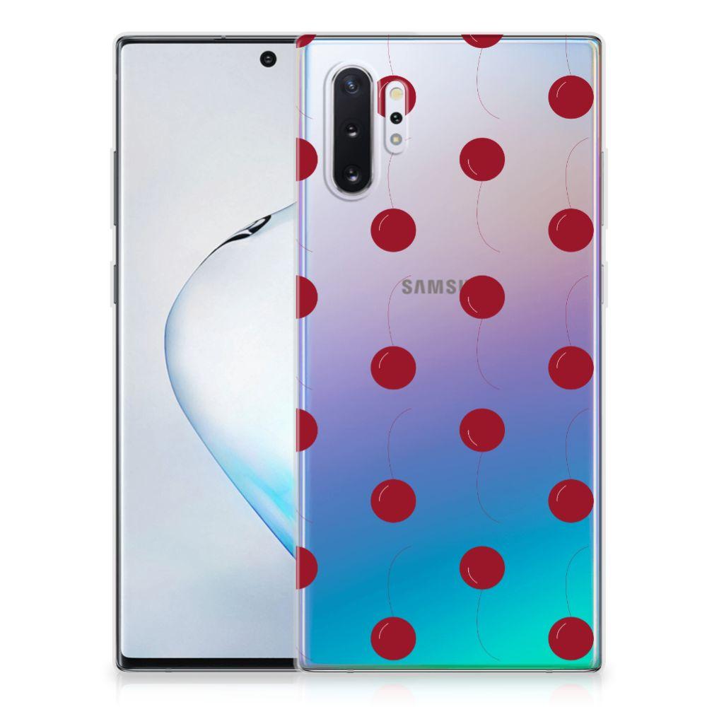 Samsung Galaxy Note 10 Plus Siliconen Case Cherries