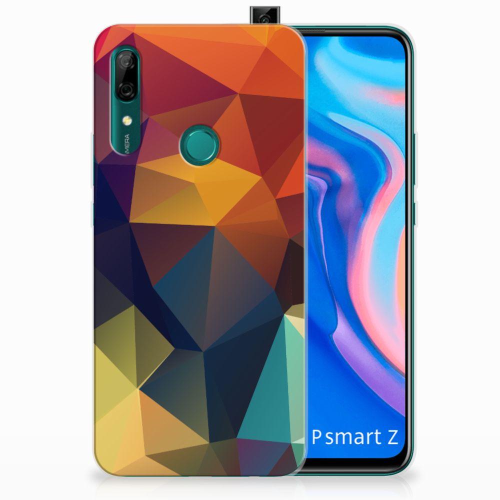 Huawei P Smart Z TPU Hoesje Polygon Color