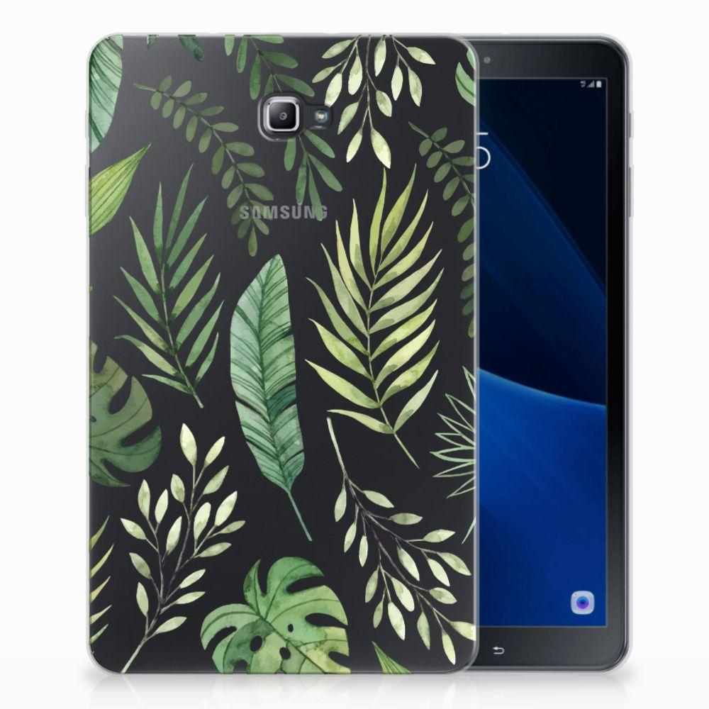 Samsung Galaxy Tab A 10.1 Uniek Tablethoesje Leaves