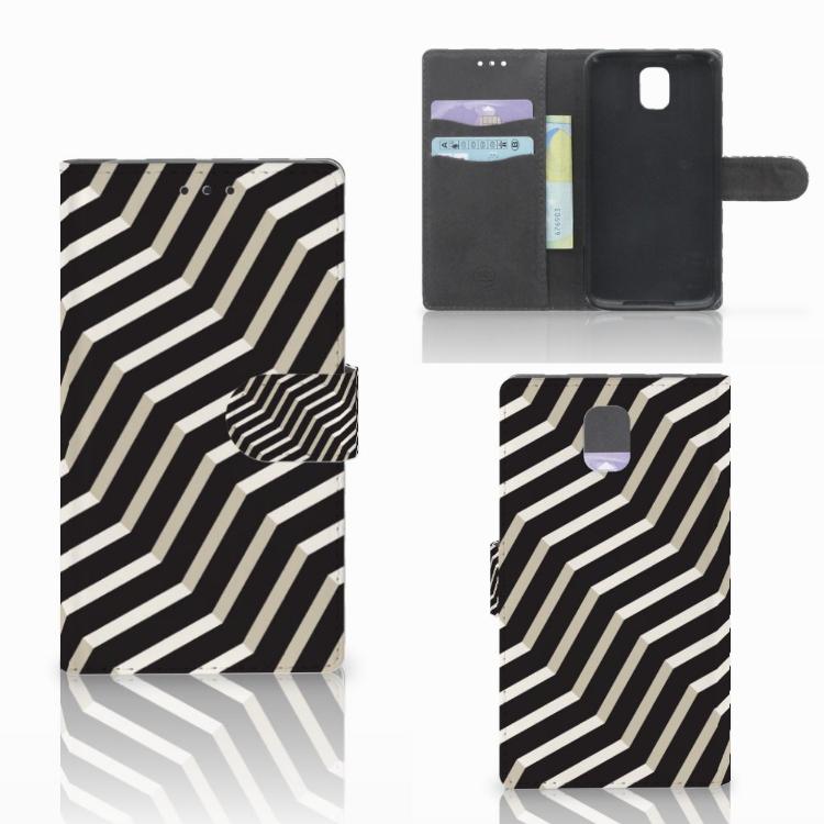 Samsung Galaxy Note 3 Bookcase Illusion