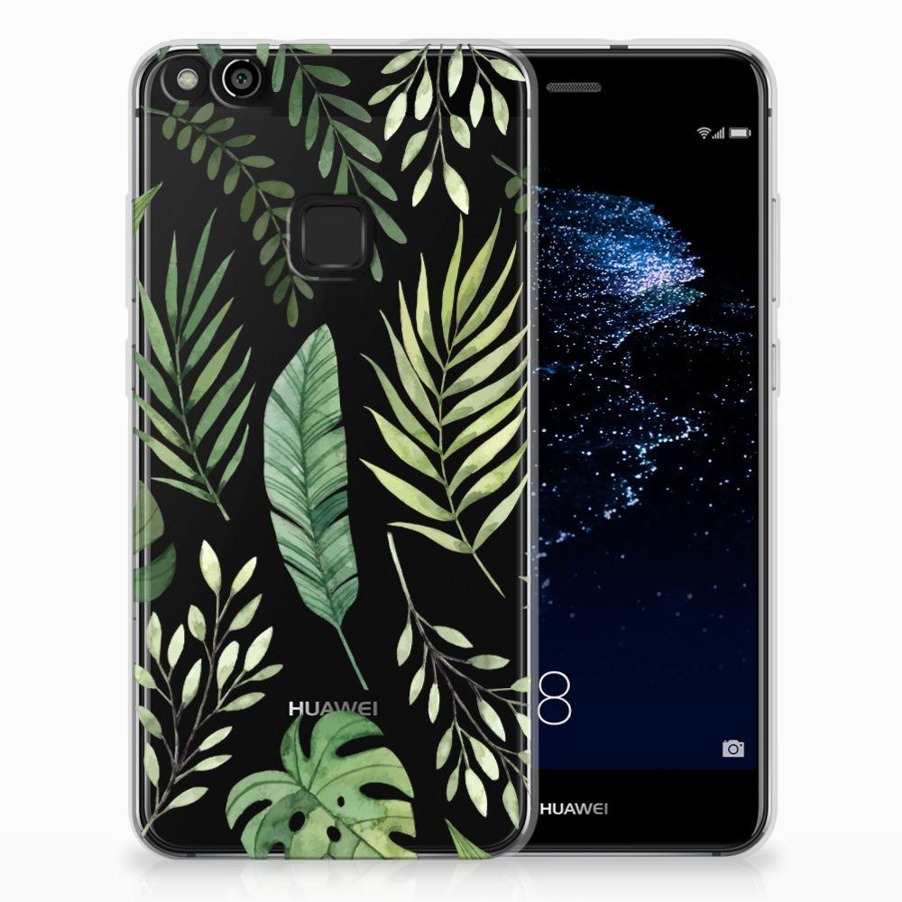 Huawei P10 Lite Uniek TPU Hoesje Leaves