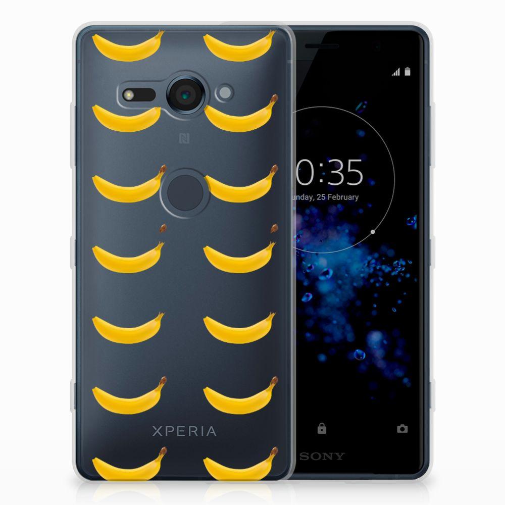 Sony Xperia XZ2 Compact Siliconen Case Banana