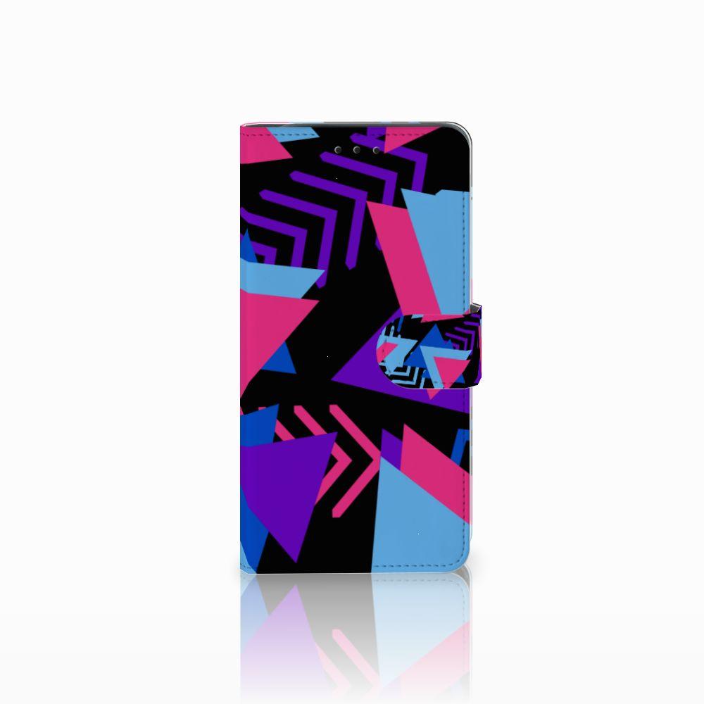 Samsung Galaxy J6 Plus (2018) Boekhoesje Design Funky Triangle