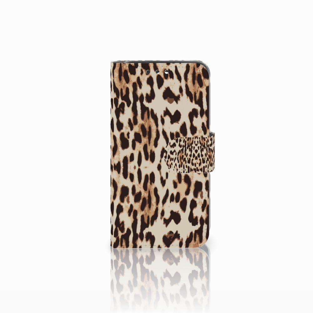 Huawei Y5 Y560 Uniek Boekhoesje Leopard