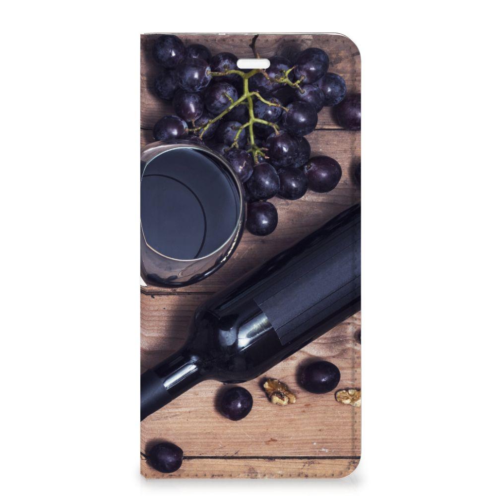 Huawei P10 Plus Flip Style Cover Wijn