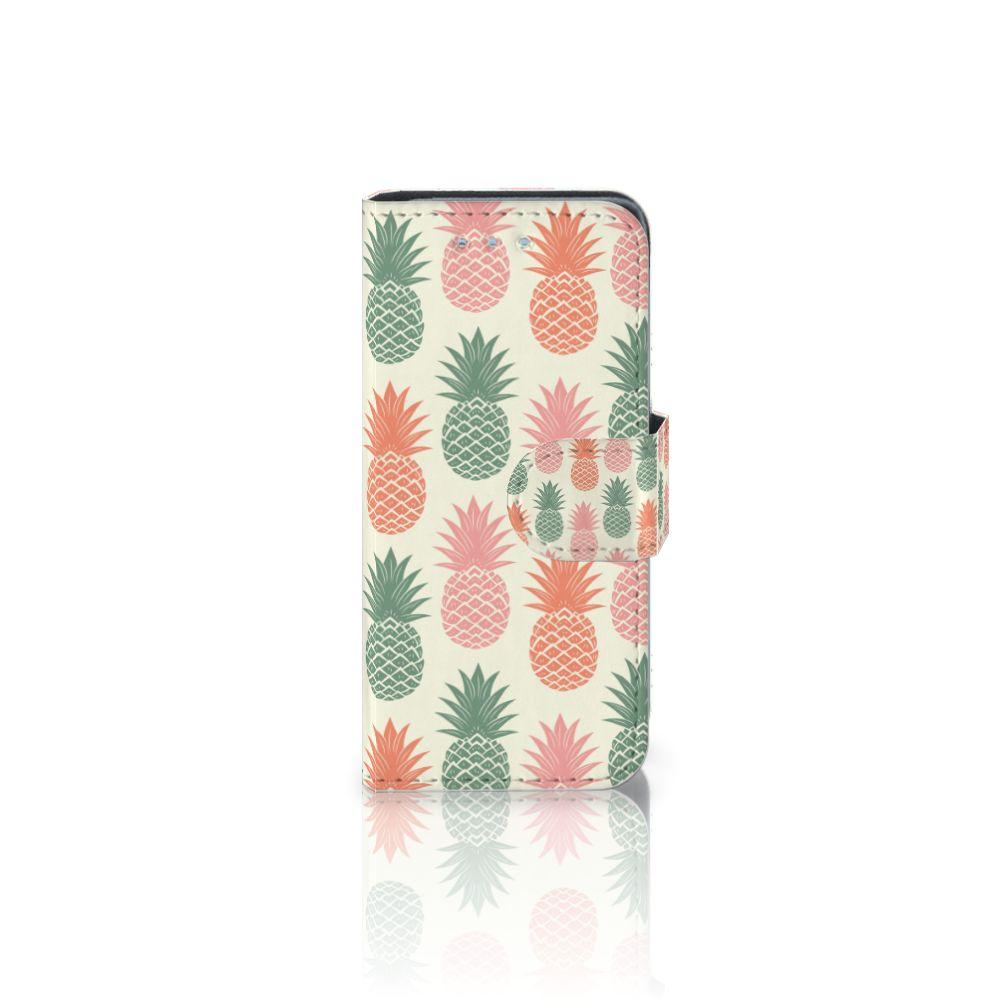 Samsung Galaxy S4 Mini i9190 Boekhoesje Design Ananas