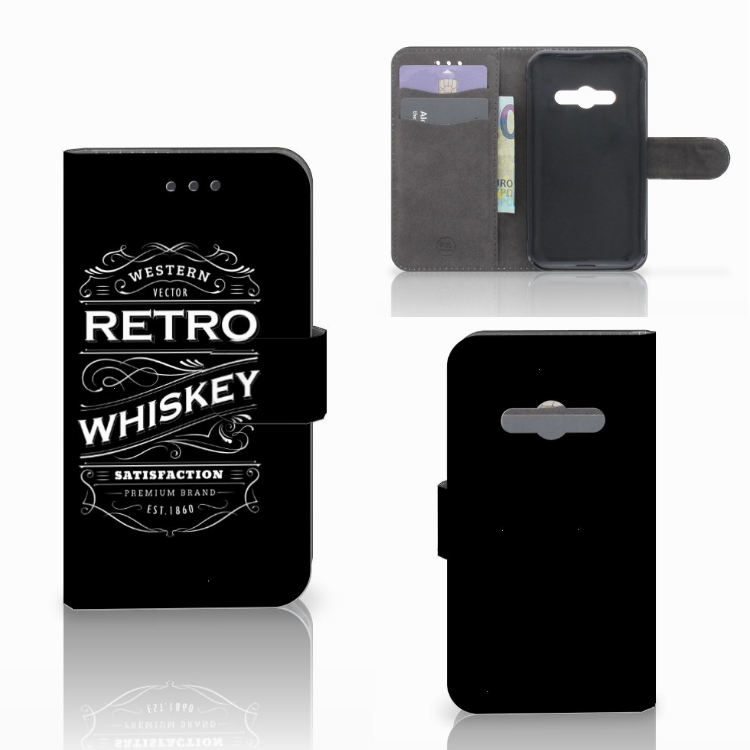 Samsung Galaxy Xcover 3 | Xcover 3 VE Book Cover Whiskey