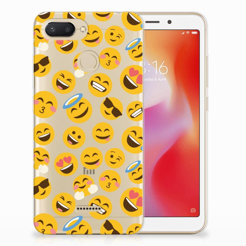 Xiaomi Redmi 6 TPU bumper Emoji