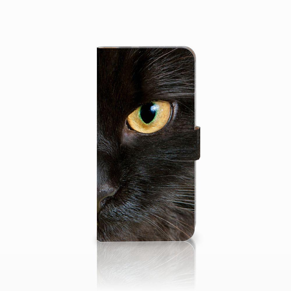 Google Pixel XL Telefoonhoesje met Pasjes Zwarte Kat