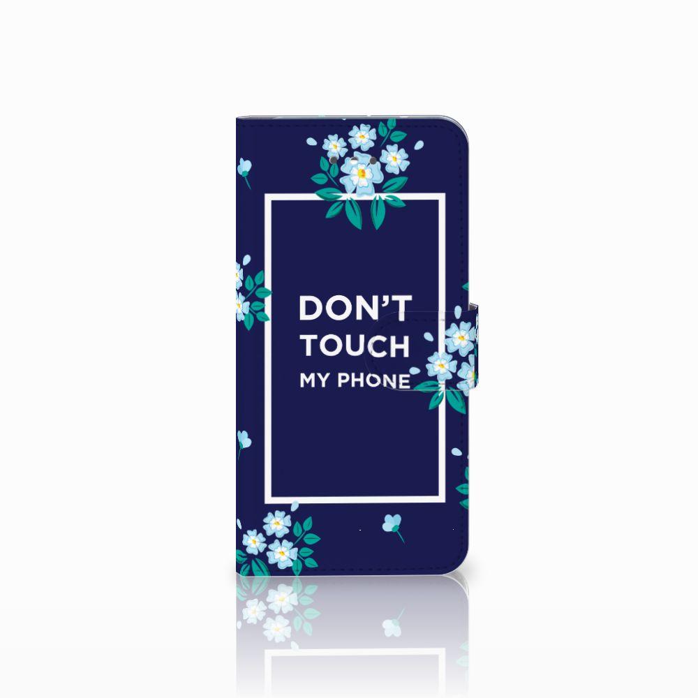 LG Nexus 5X Boekhoesje Flowers Blue DTMP