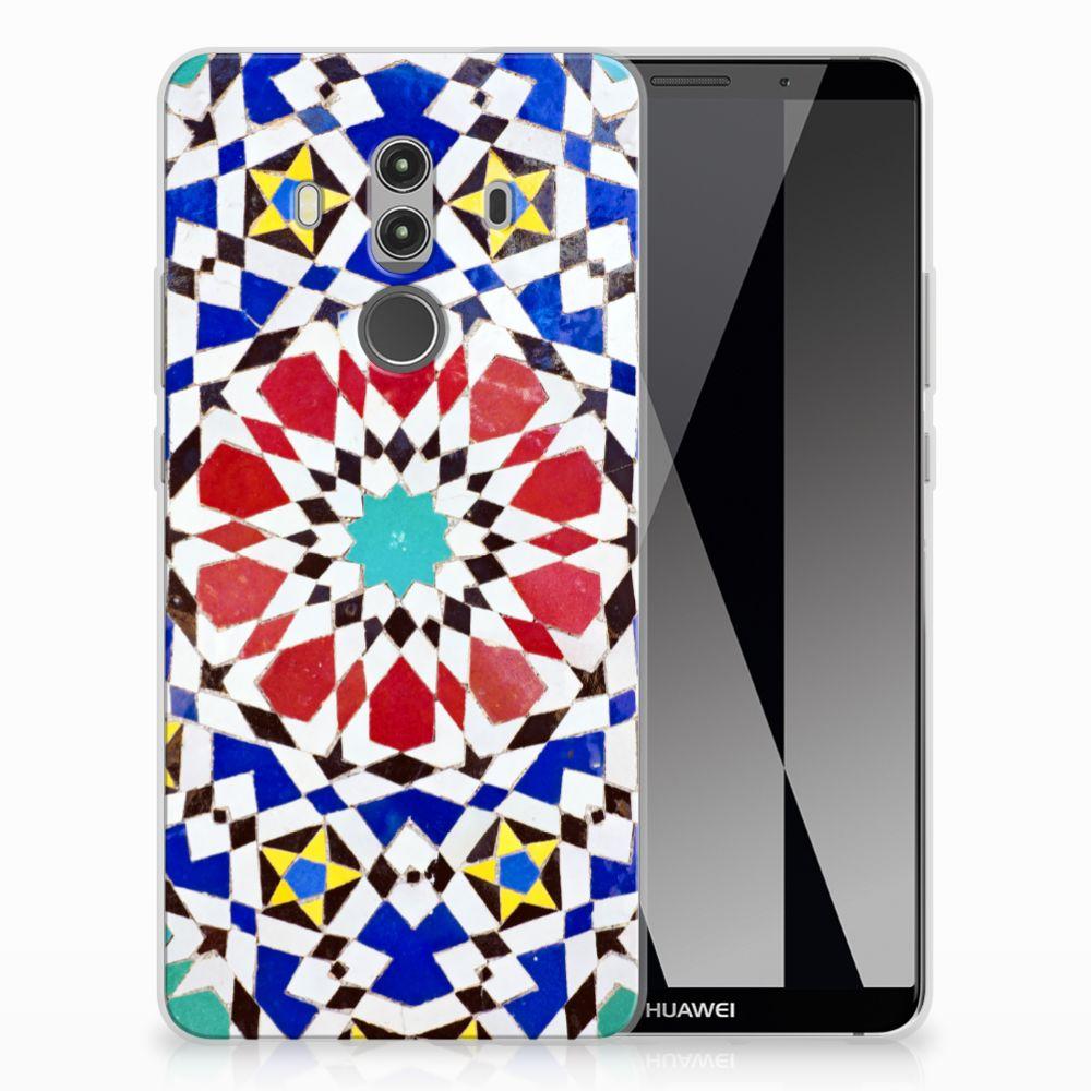 Huawei Mate 10 Pro TPU Siliconen Hoesje Mozaïek