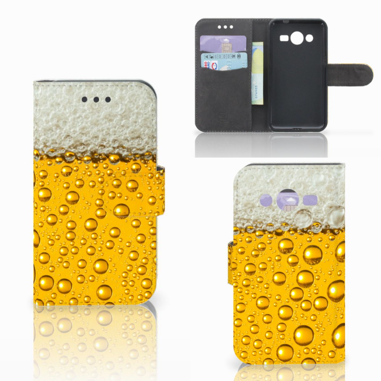 Samsung Galaxy Core 2 Book Cover Bier
