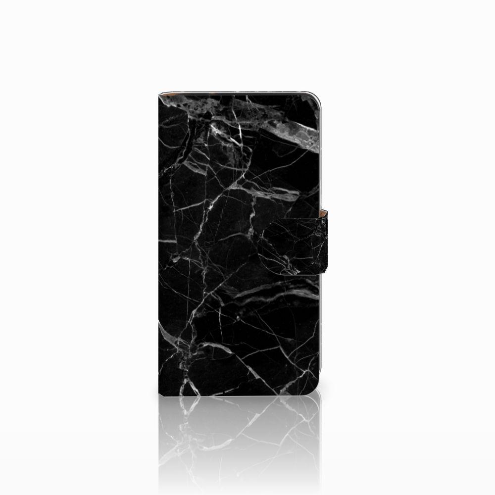 Samsung Galaxy J2 (2015) Uniek Boekhoesje Marmer Zwart