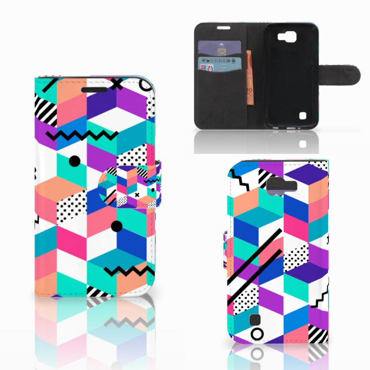 LG K4 Bookcase Blokken Kleurrijk