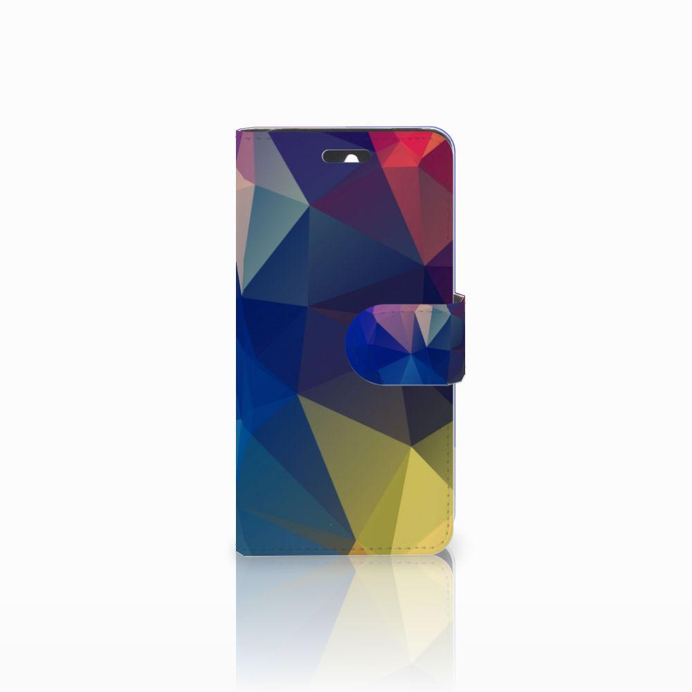 Huawei Ascend Y550 Bookcase Polygon Dark