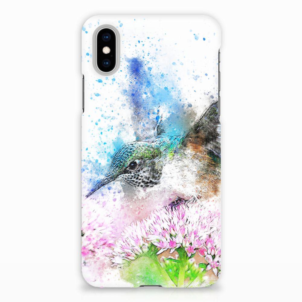 Apple iPhone X | Xs Hardcase Hoesje Design Vogel