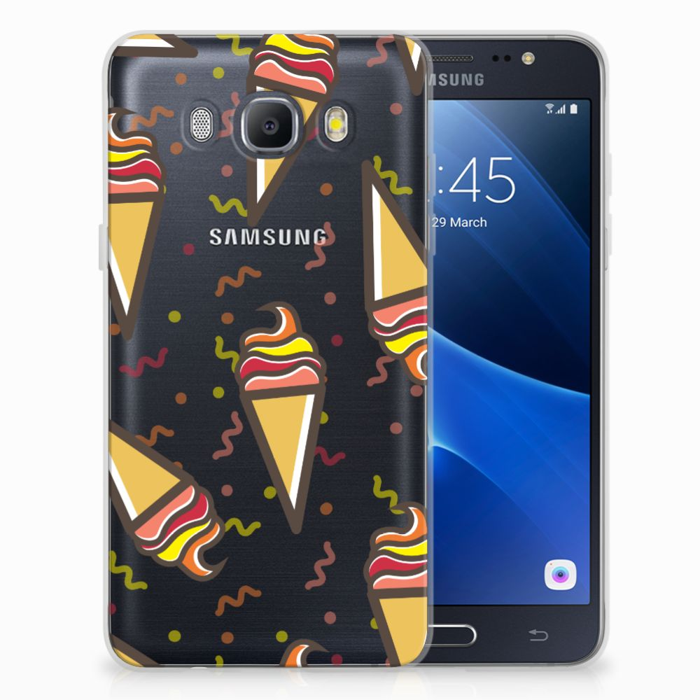 Samsung Galaxy J5 2016 Siliconen Case Icecream