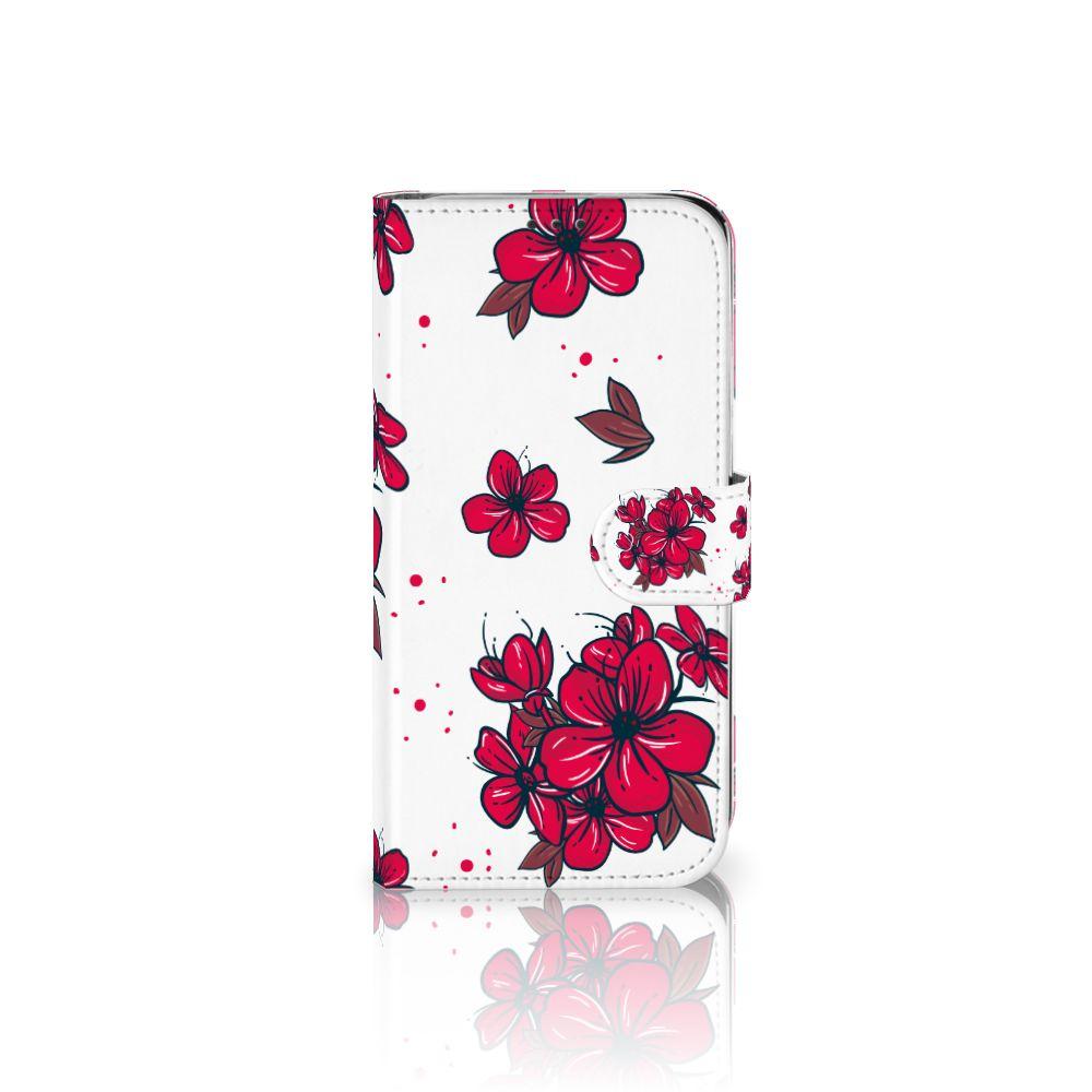 Xiaomi Mi A2 Lite Boekhoesje Design Blossom Red