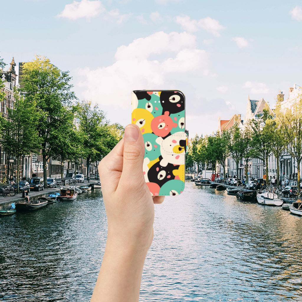 Apple iPhone 5 | 5s | SE Uniek Boekhoesje Bears