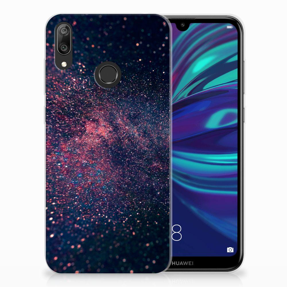 Huawei Y7 2019 TPU Hoesje Stars