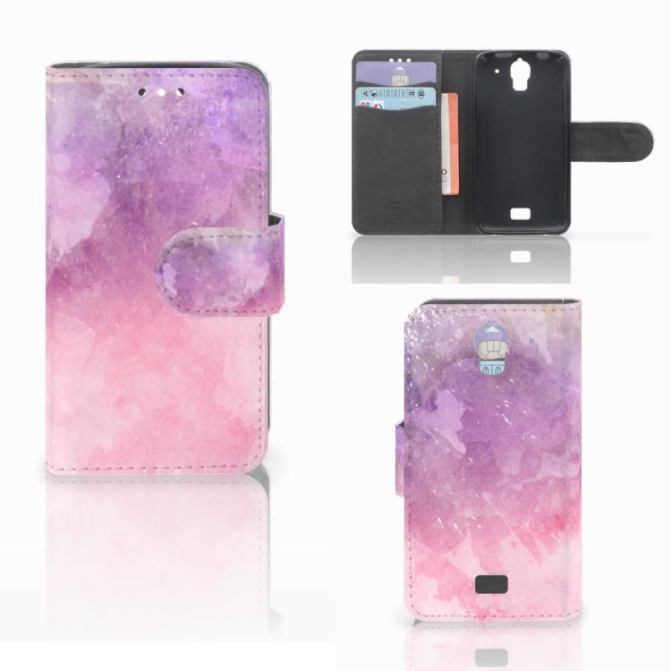 Hoesje Huawei Y360 Pink Purple Paint