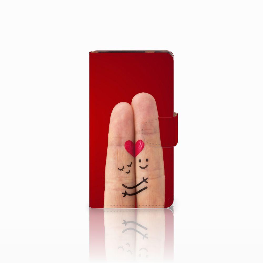 HTC Desire 601 Uniek Boekhoesje Liefde