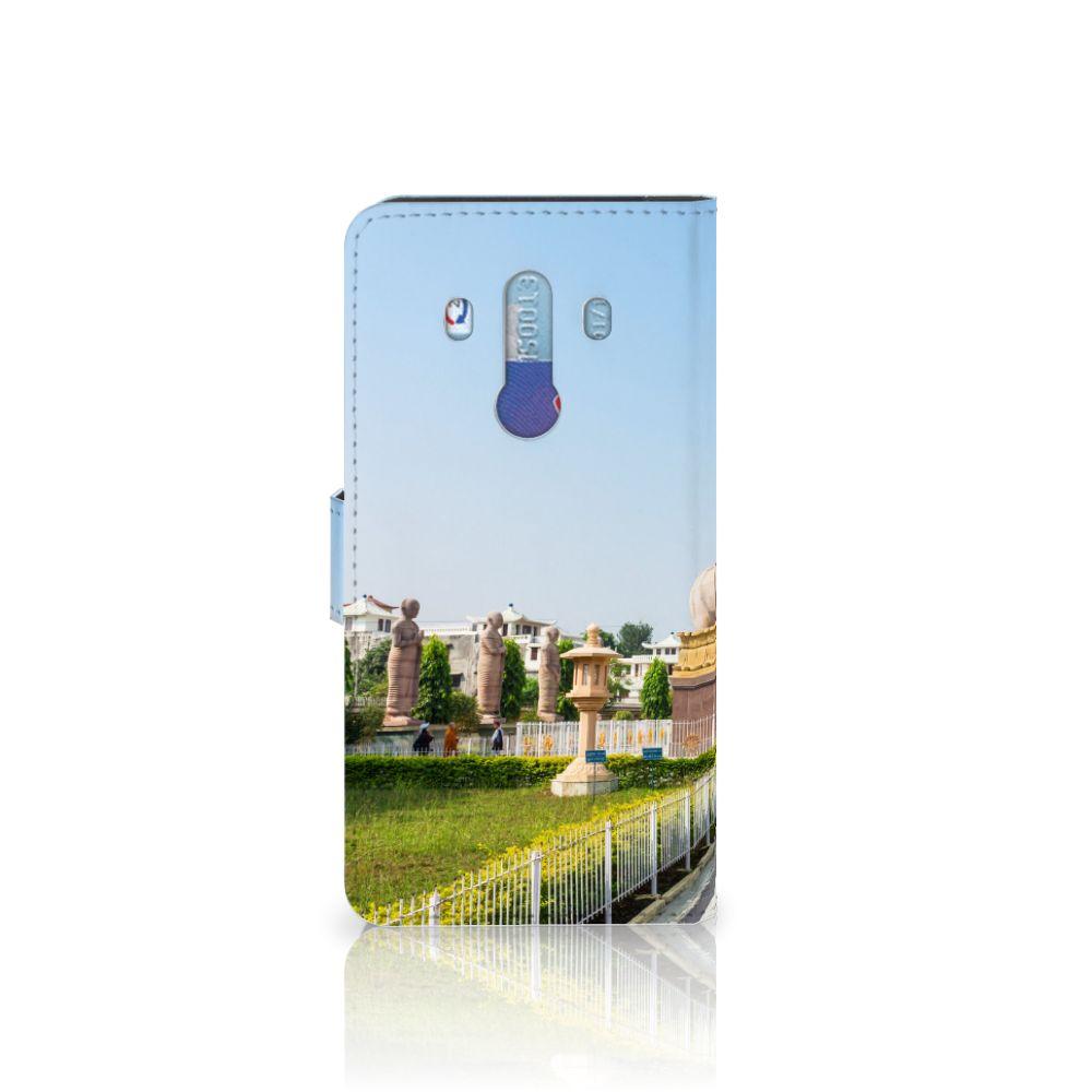 Huawei Mate 10 Pro Flip Cover Boeddha