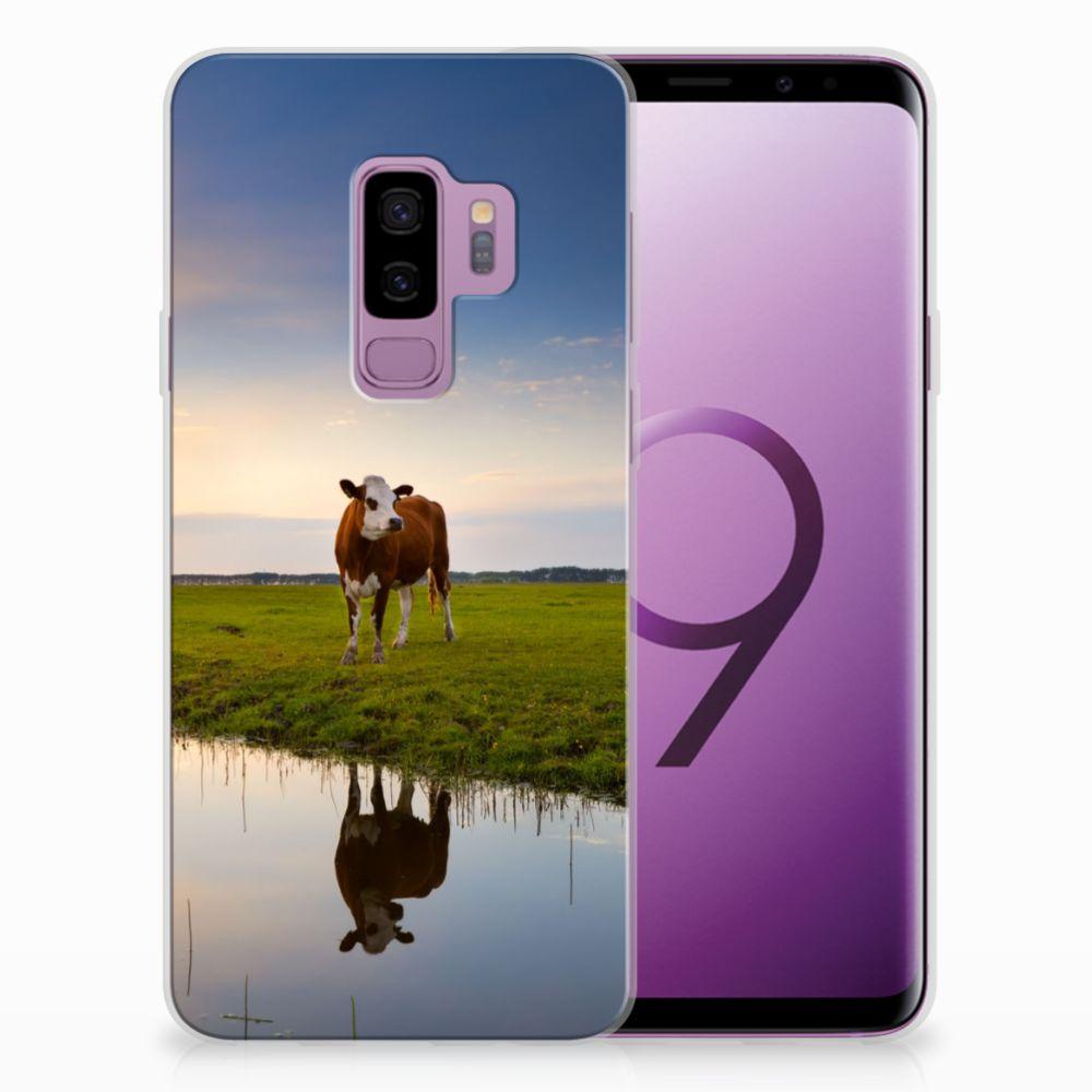 Samsung Galaxy S9 Plus TPU Hoesje Design Koe