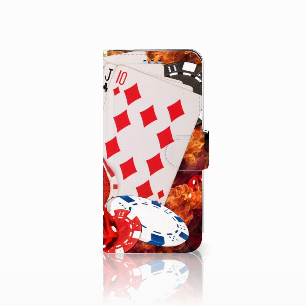 Samsung Galaxy S9 Uniek Boekhoesje Casino