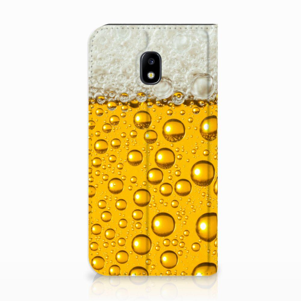 Samsung Galaxy J3 2017 Uniek Standcase Hoesje Bier
