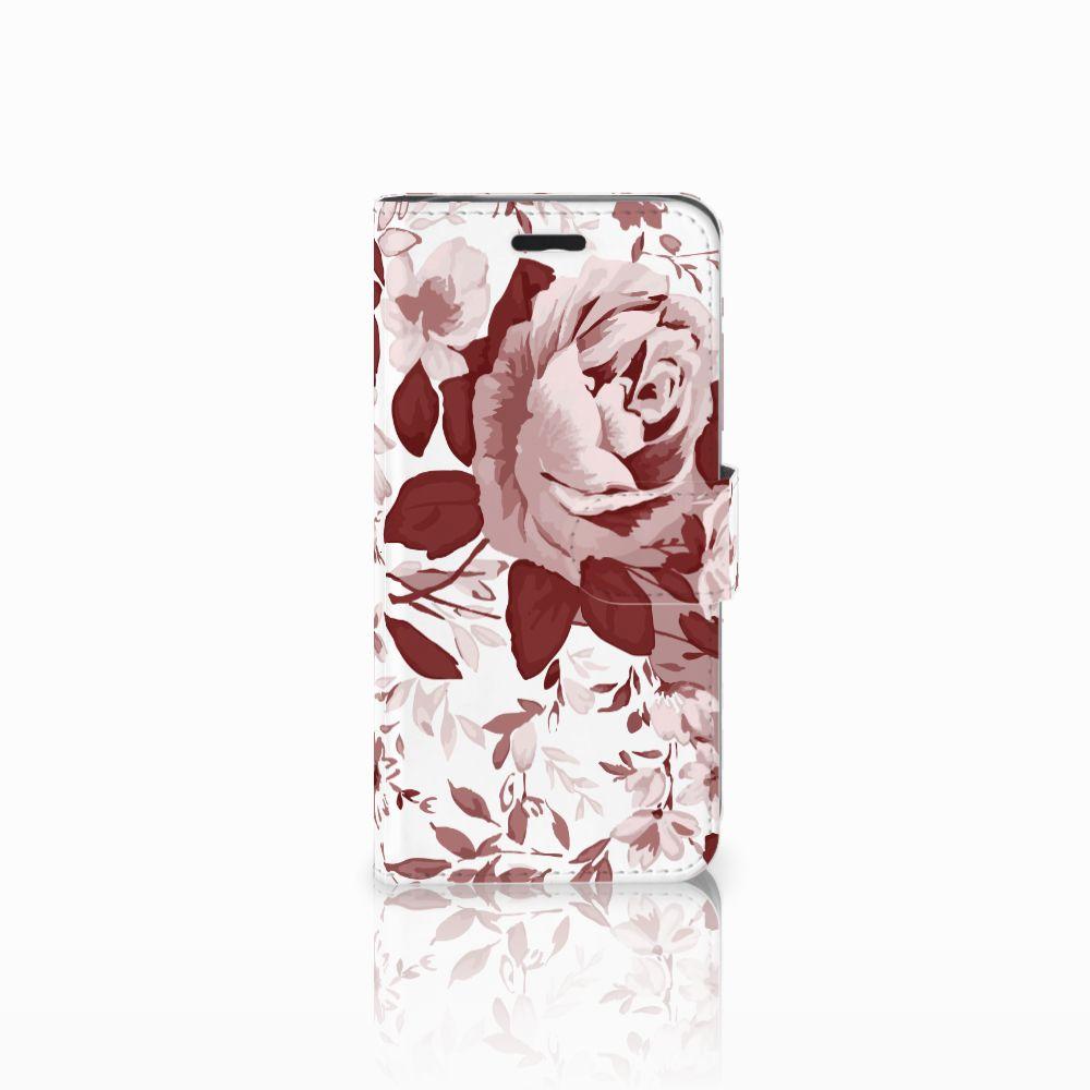 Acer Liquid Z530   Z530s Uniek Boekhoesje Watercolor Flowers
