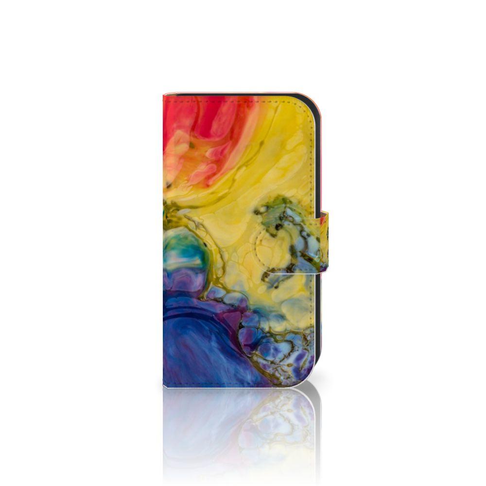 Hoesje Samsung Galaxy Ace 4 4G (G357-FZ) Watercolor Dark
