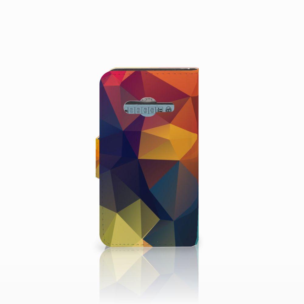 Samsung Galaxy Trend 2 Bookcase Polygon Color