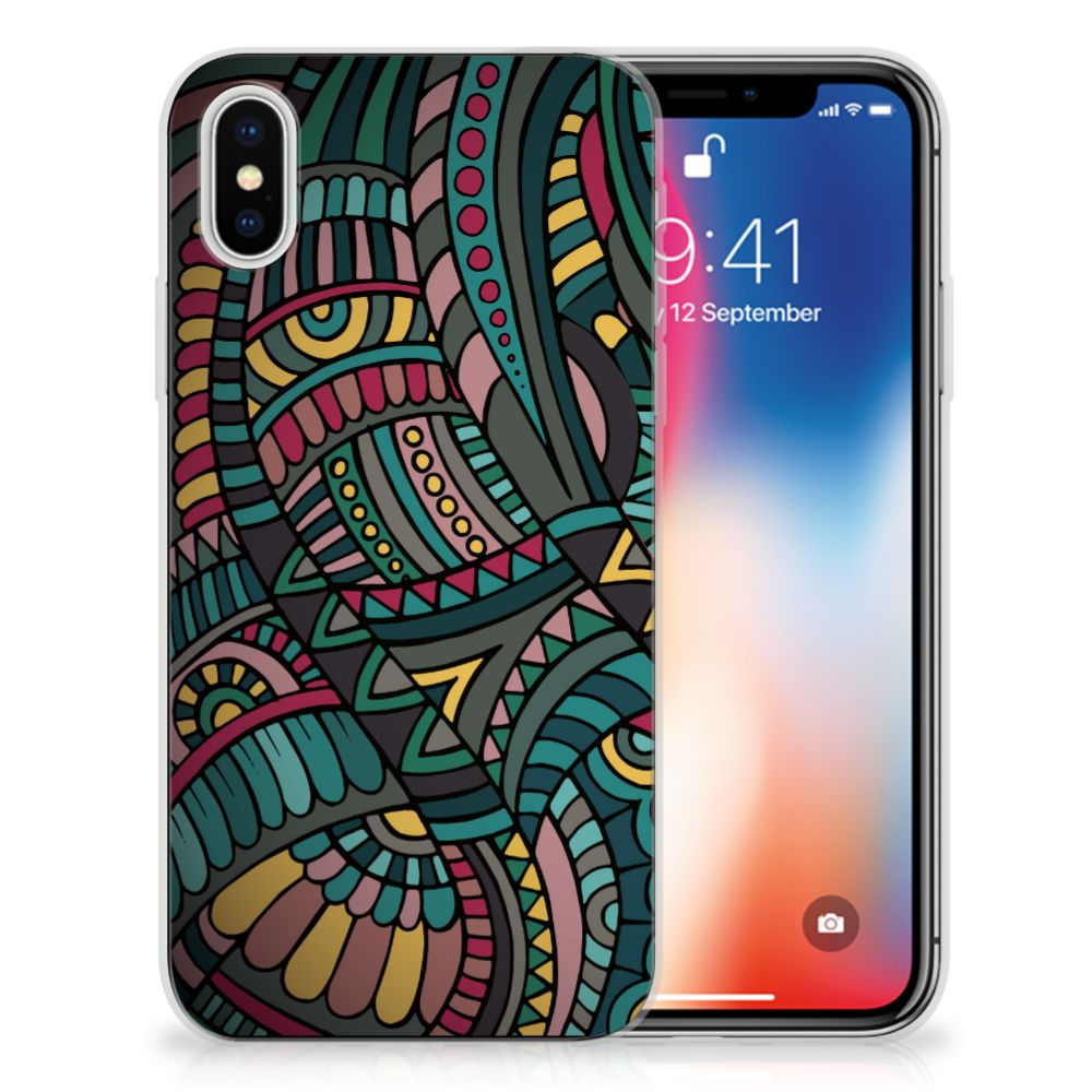 Apple iPhone X | Xs TPU Hoesje Design Aztec