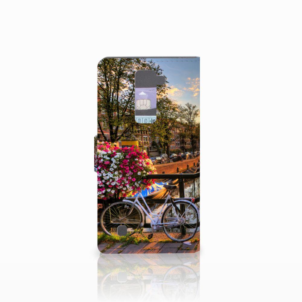 LG K10 2015 Flip Cover Amsterdamse Grachten