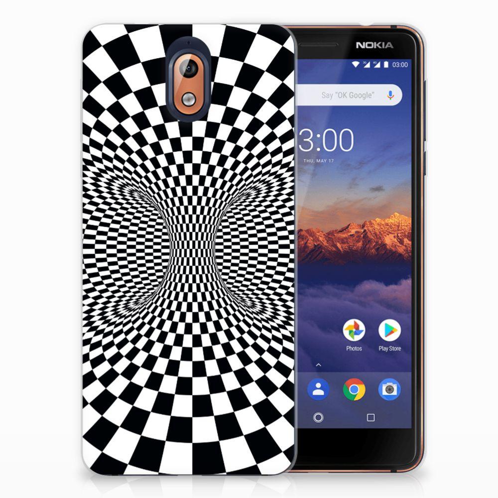 Nokia 3.1 (2018) TPU Hoesje Illusie