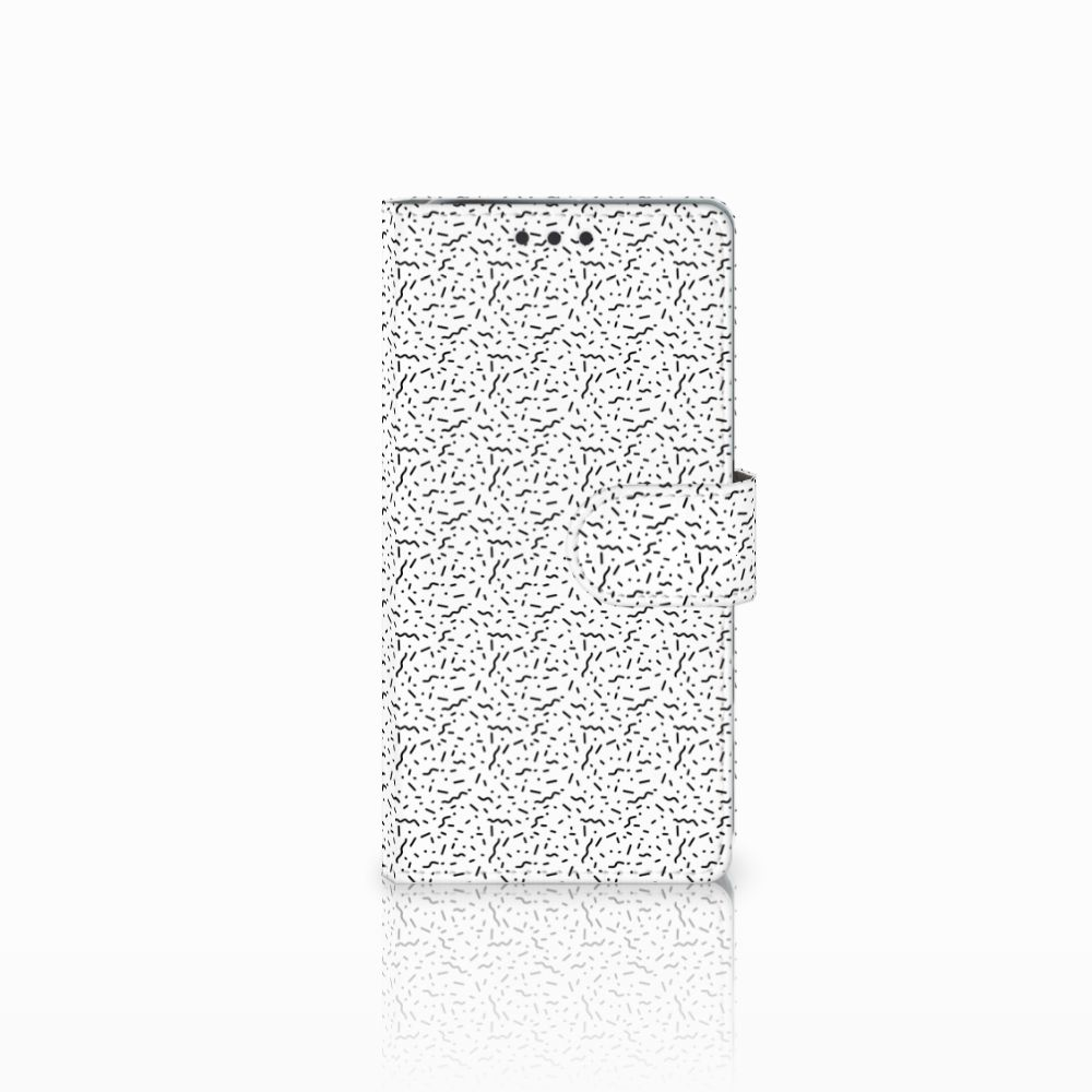 Sony Xperia X Performance Uniek Boekhoesje Stripes Dots